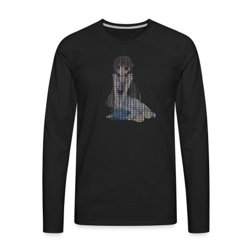 Anime Phobic - Men's Premium Long Sleeve T-Shirt