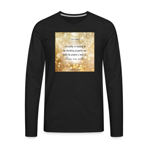 Abundance - Men's Premium Long Sleeve T-Shirt