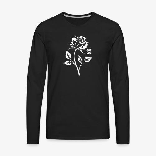 Rose SD - Men's Premium Long Sleeve T-Shirt