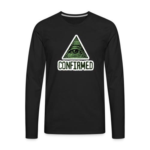 Illuminati Confiremed - Men's Premium Long Sleeve T-Shirt