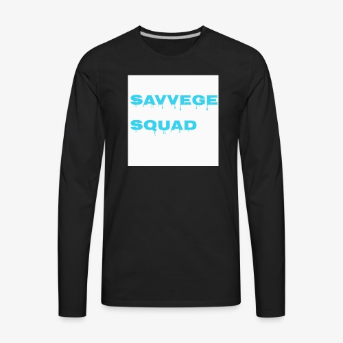 savvege squad - Men's Premium Long Sleeve T-Shirt