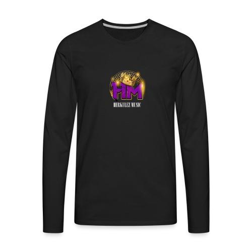 Herkulez Music Logo - Men's Premium Long Sleeve T-Shirt