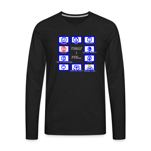 Today I feel... Moreminds Edition - Men's Premium Long Sleeve T-Shirt