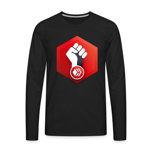 Hive Revolution Logo - Men's Premium Long Sleeve T-Shirt