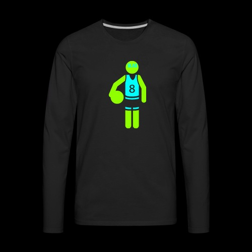 my amazing blab clothing logo - Men's Premium Long Sleeve T-Shirt