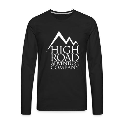 High Road Adventure Company Logo - Men's Premium Long Sleeve T-Shirt