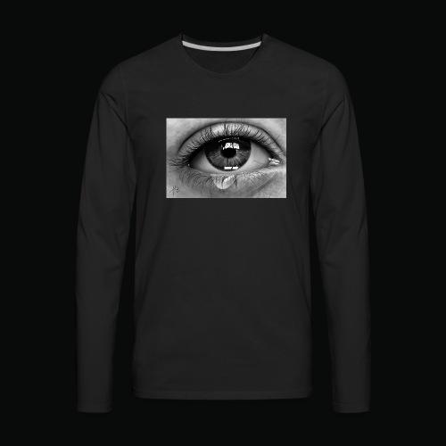 Emotional eye - Men's Premium Long Sleeve T-Shirt
