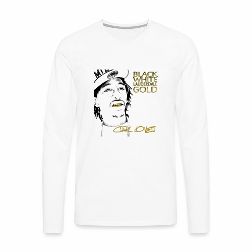 Carl Lovett Lauderdale Gold - Men's Premium Long Sleeve T-Shirt