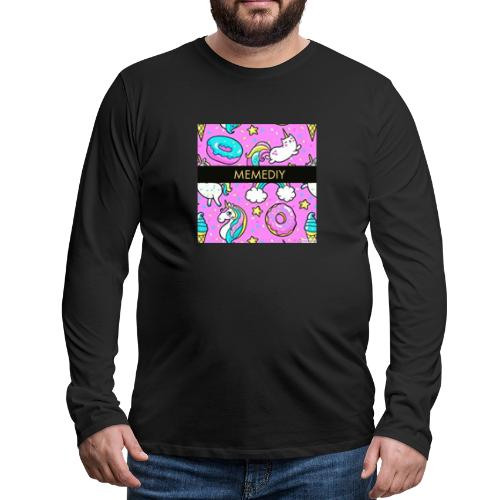 MemeDiy - Men's Premium Long Sleeve T-Shirt