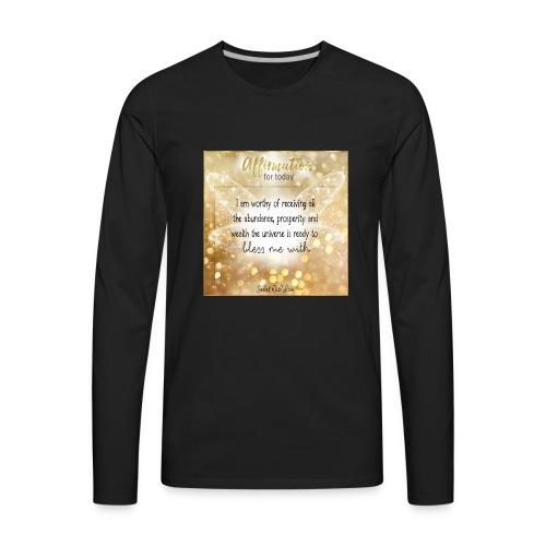Abundance - Men's Premium Long Sleeve T-Shirt