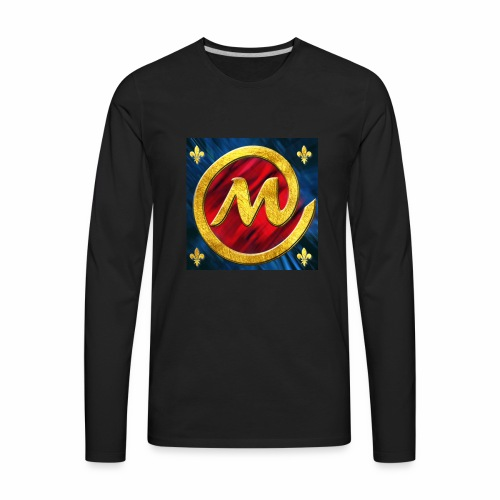 logo champion mm cl - Men's Premium Long Sleeve T-Shirt