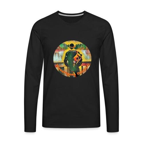 WoodPigeon Outdoors - Men's Premium Long Sleeve T-Shirt