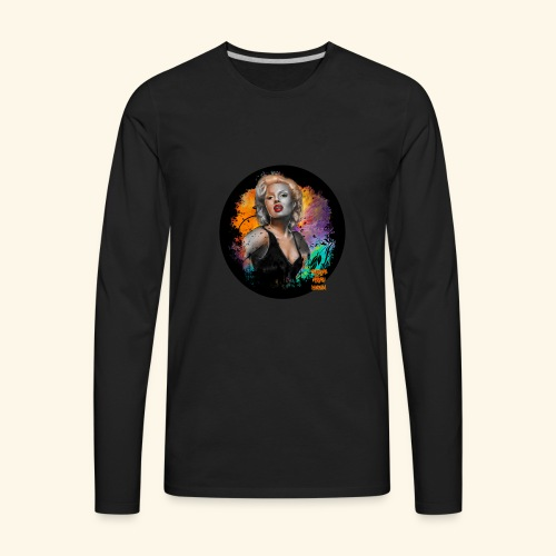 Marilyn Monroe - Men's Premium Long Sleeve T-Shirt