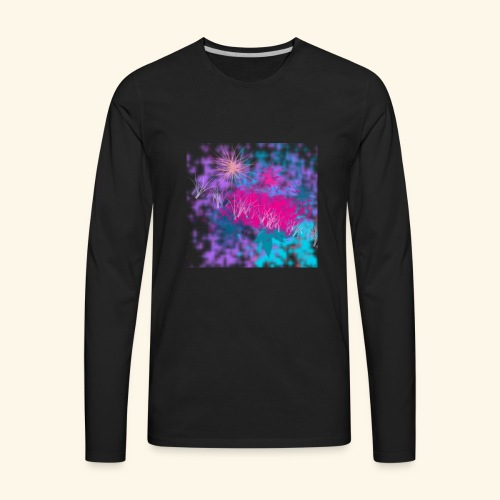 Abstract - Men's Premium Long Sleeve T-Shirt