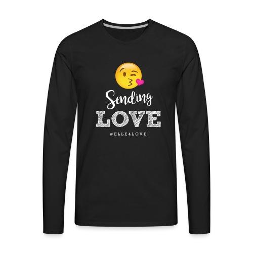 Sending Love - Men's Premium Long Sleeve T-Shirt