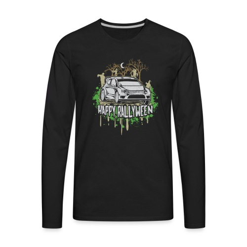 Rally Car Halloween - Men's Premium Long Sleeve T-Shirt