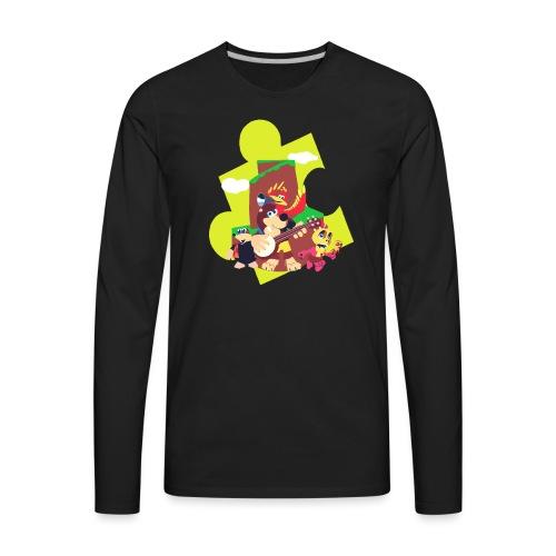 banjo - Men's Premium Long Sleeve T-Shirt