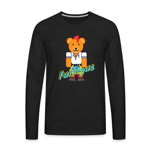 Skinhead Furrrgus - Men's Premium Long Sleeve T-Shirt