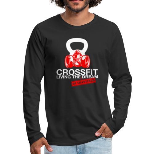 CROSSFIT LTQD - WHITE - Men's Premium Long Sleeve T-Shirt
