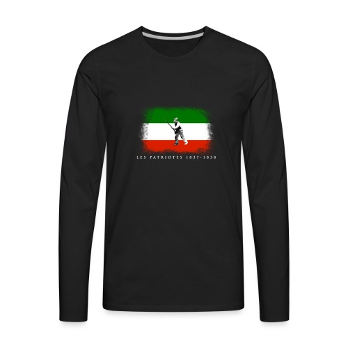 Patriote 1837 1838 - Men's Premium Long Sleeve T-Shirt