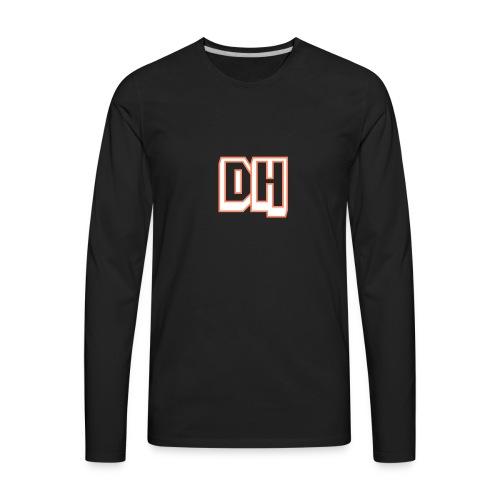 Capa para Smartphones DatHell - Men's Premium Long Sleeve T-Shirt