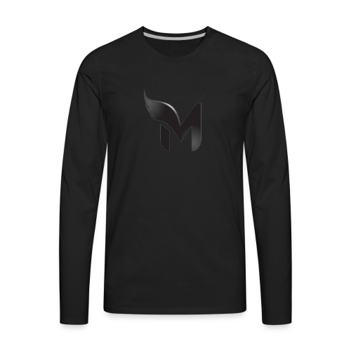 Limited Blackout Angle Merch - Men's Premium Long Sleeve T-Shirt