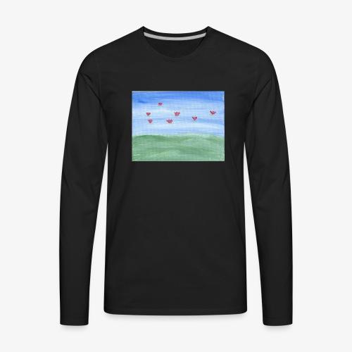 abstract nature - Men's Premium Long Sleeve T-Shirt