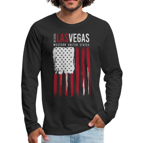 las vegas nevada usa - Men's Premium Long Sleeve T-Shirt