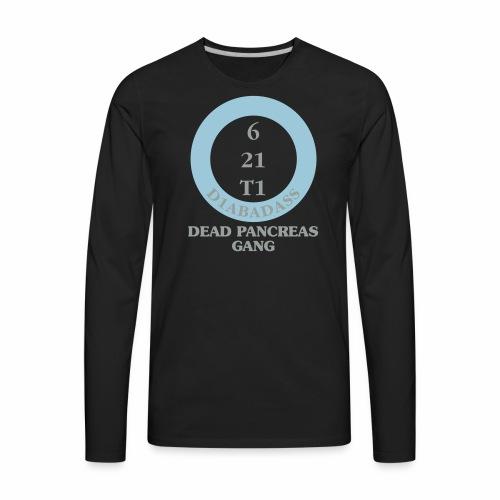 Dead Pancreas Gang - Men's Premium Long Sleeve T-Shirt