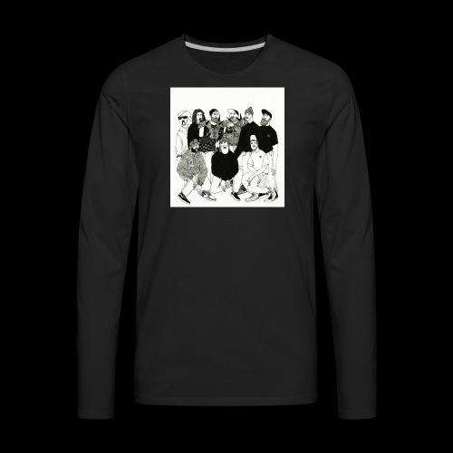 The DBD Show EP Cover Art - Men's Premium Long Sleeve T-Shirt
