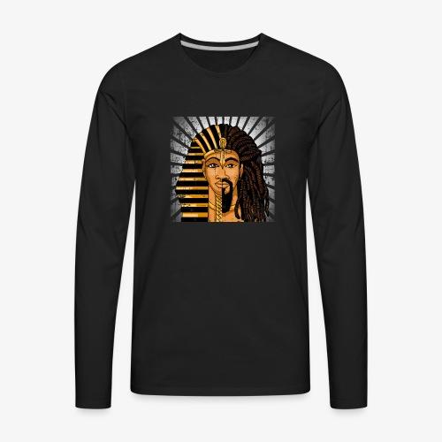 Pharaoh Egypt Love - Men's Premium Long Sleeve T-Shirt