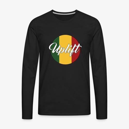 Uplift Rasta Basic // - Men's Premium Long Sleeve T-Shirt