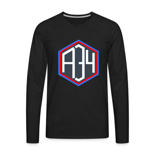 Adrian 34 LOGO - Men's Premium Long Sleeve T-Shirt