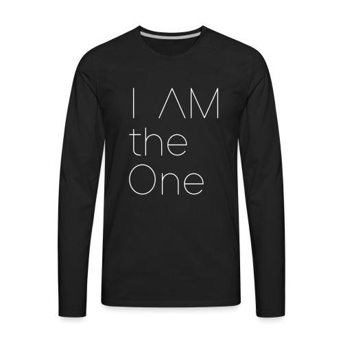 I am the One - Men's Premium Long Sleeve T-Shirt
