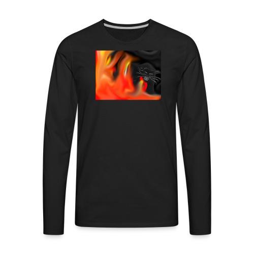 Through the Fire - Men's Premium Long Sleeve T-Shirt