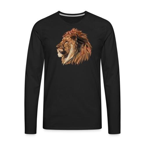 Abstract Lion - Men's Premium Long Sleeve T-Shirt