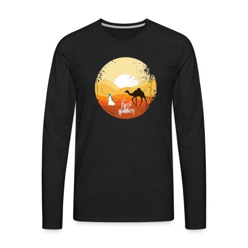 FFH Camel Design png - Men's Premium Long Sleeve T-Shirt
