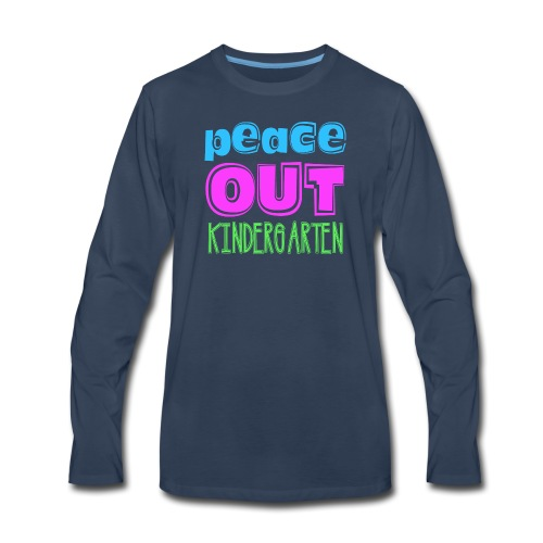 Kreative In Kinder Peace Out - Men's Premium Long Sleeve T-Shirt