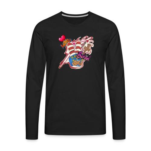 Peace old school - Men's Premium Long Sleeve T-Shirt