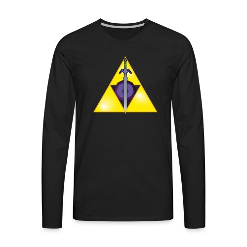 The Hylian Hallows - Men's Premium Long Sleeve T-Shirt