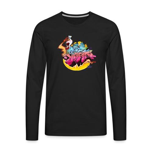 Hideout - NYG Design 2 - Men's Premium Long Sleeve T-Shirt