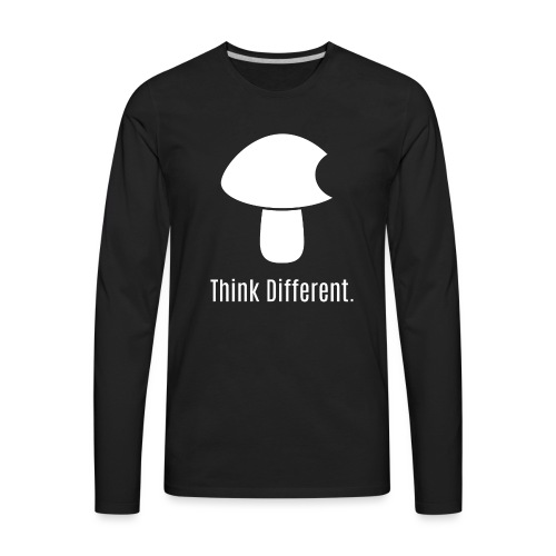 Think Different. - Men's Premium Long Sleeve T-Shirt