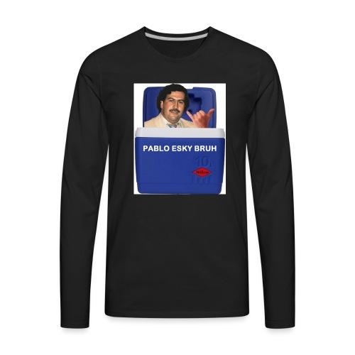 Pablo Esky Bruh - Men's Premium Long Sleeve T-Shirt