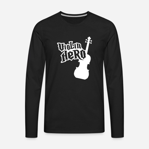 Violin Hero - Men's Premium Long Sleeve T-Shirt
