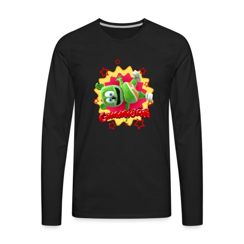 Gummibär Starburst - Men's Premium Long Sleeve T-Shirt