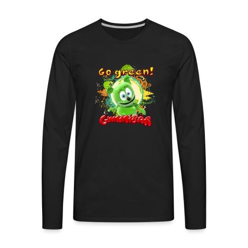 Gummibär Go Green Earth Day Trees - Men's Premium Long Sleeve T-Shirt