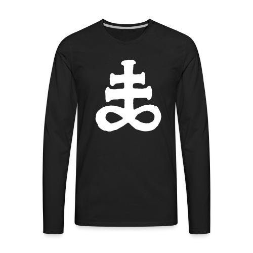 Brimstone Sigil - Men's Premium Long Sleeve T-Shirt