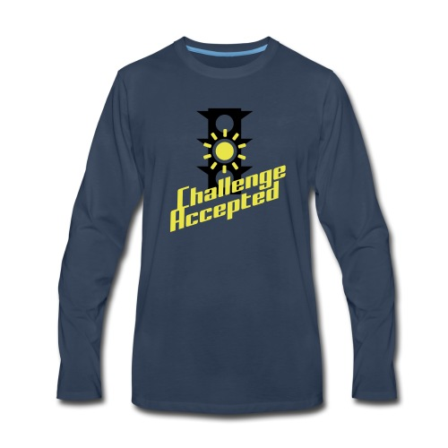 Challenge Accepted - Men's Premium Long Sleeve T-Shirt