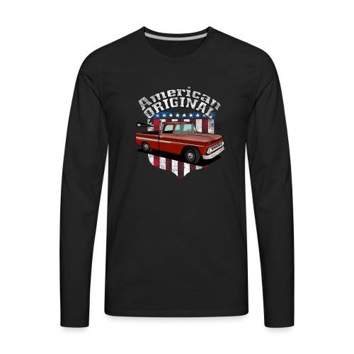 American Original RED - Men's Premium Long Sleeve T-Shirt