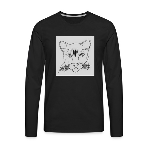 Lioness - Men's Premium Long Sleeve T-Shirt